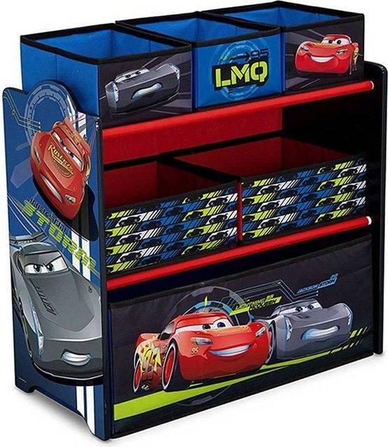 Delta Children Cars 3 Multi Bin Toy Storage Tb83349cr