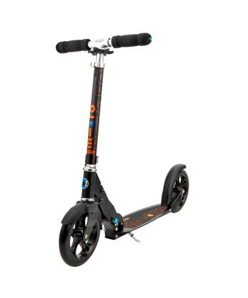 micro scooter 200mm adult scooters black. Black Bedroom Furniture Sets. Home Design Ideas